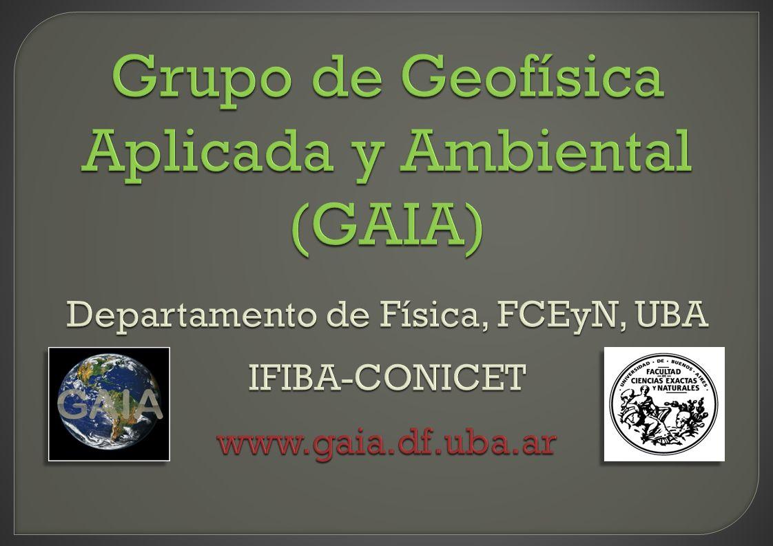 Grupo de Geofísica Aplicada y Ambiental (GAIA)