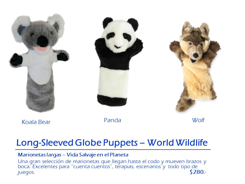 Long-Sleeved Globe Puppets – World Wildlife