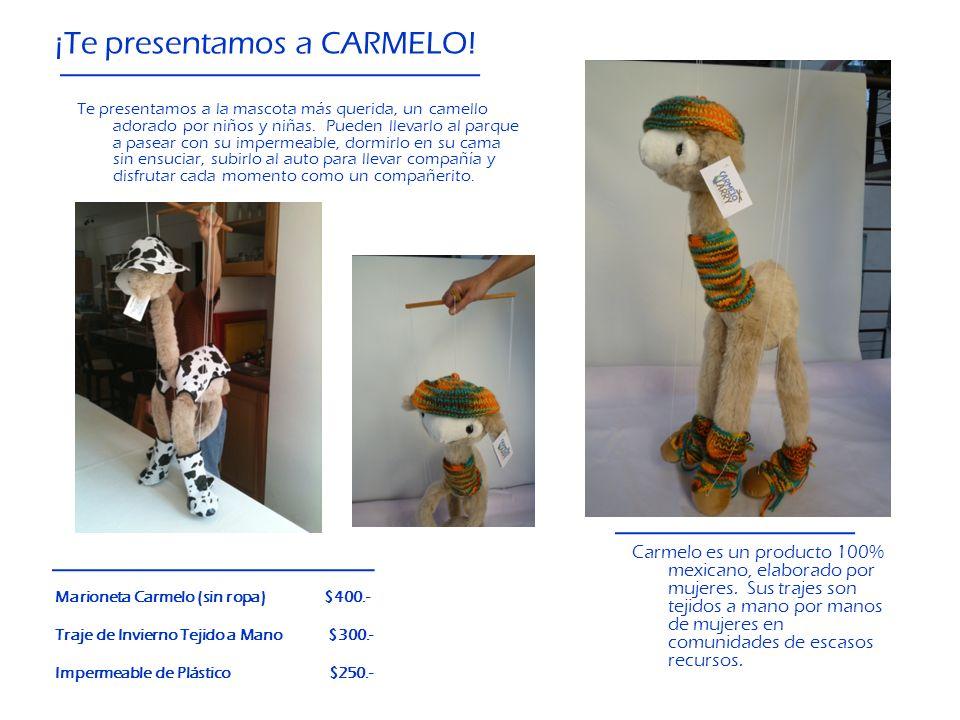 ¡Te presentamos a CARMELO!