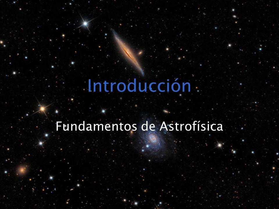 Fundamentos de Astrofísica