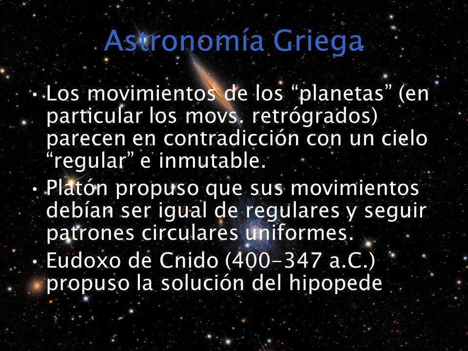 Astronomía Griega
