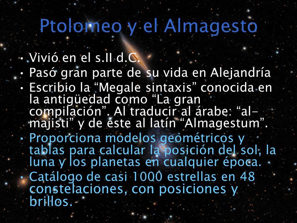 Ptolomeo y el Almagesto