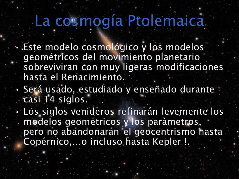 La cosmogía Ptolemaica