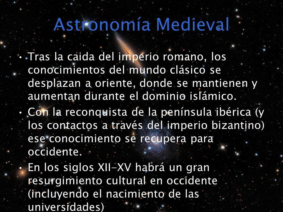 Astronomía Medieval