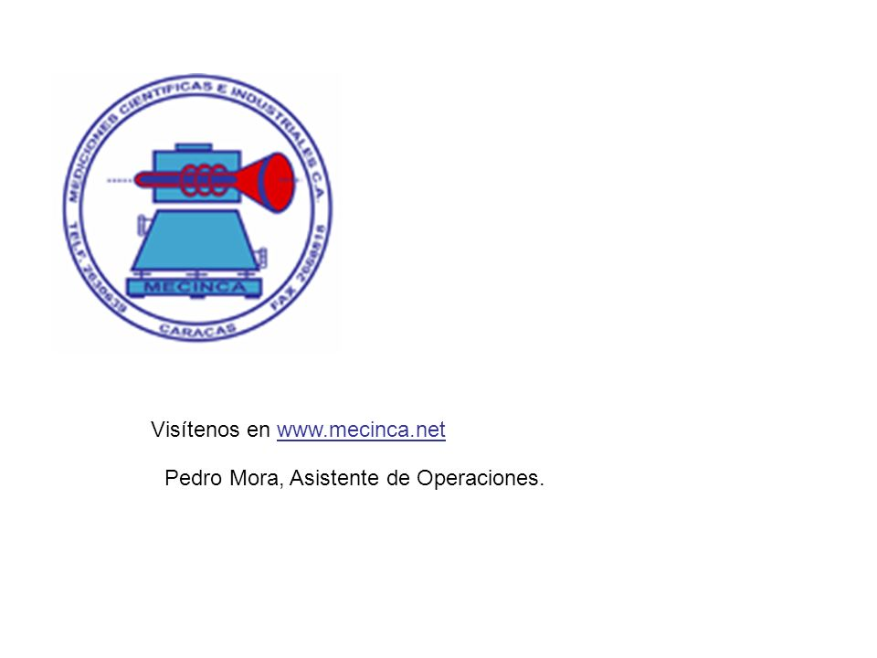 Visítenos en www.mecinca.net