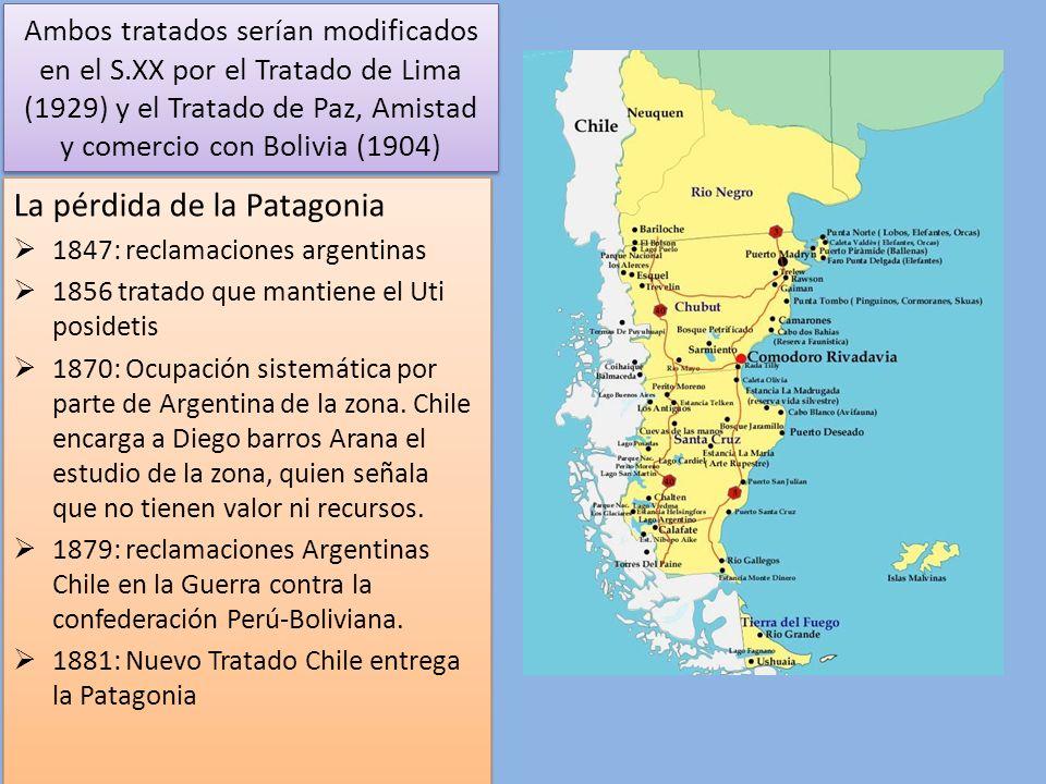 La pérdida de la Patagonia