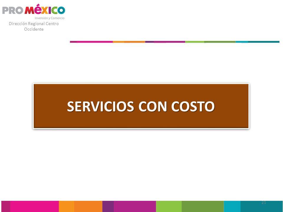 SERVICIOS CON COSTO