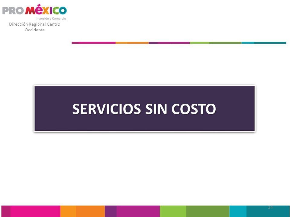 SERVICIOS SIN COSTO