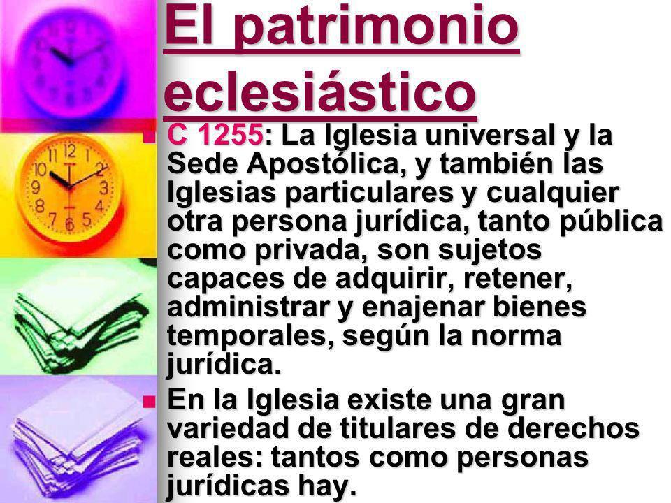 El patrimonio eclesiástico
