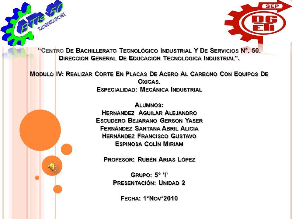 ''Centro De Bachillerato Tecnológico Industrial Y De Servicios N°. 50