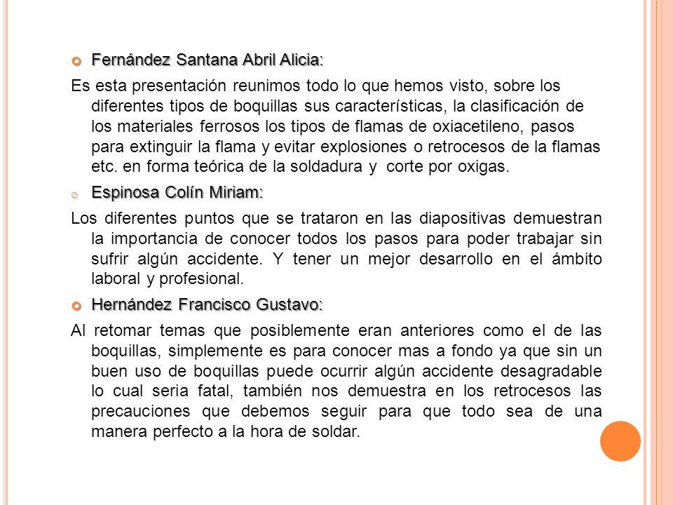 Fernández Santana Abril Alicia: