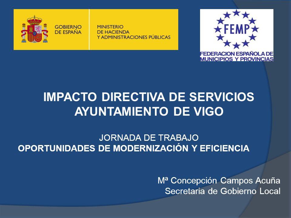 IMPACTO DIRECTIVA DE SERVICIOS