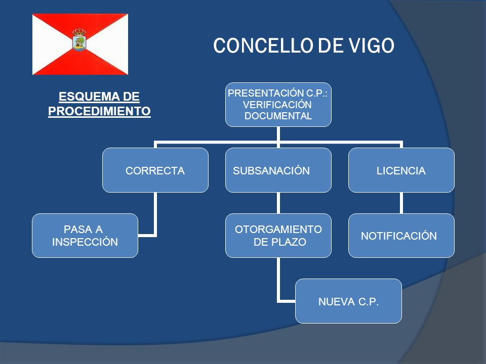 CONCELLO DE VIGO ESQUEMA DE PROCEDIMIENTO