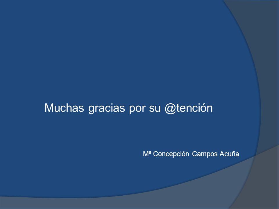 Muchas gracias por su @tención