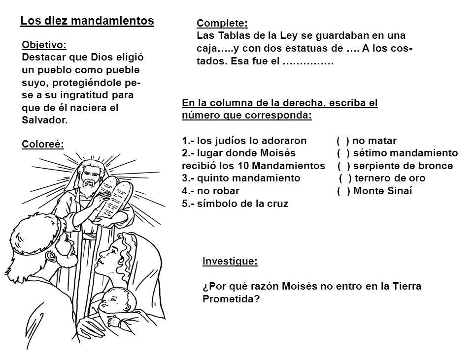 Los diez mandamientos Complete: