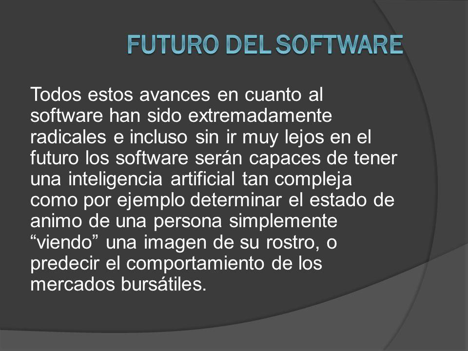Futuro del software