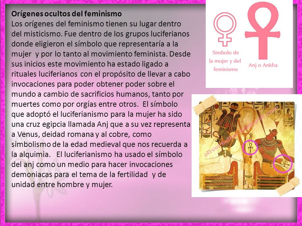 Orígenes ocultos del feminismo