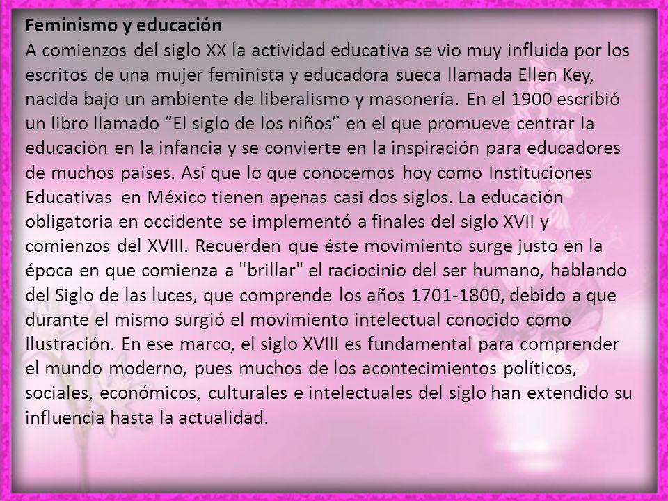 Feminismo y educación