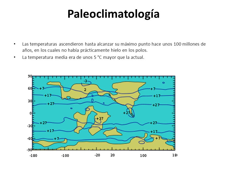 Paleoclimatología