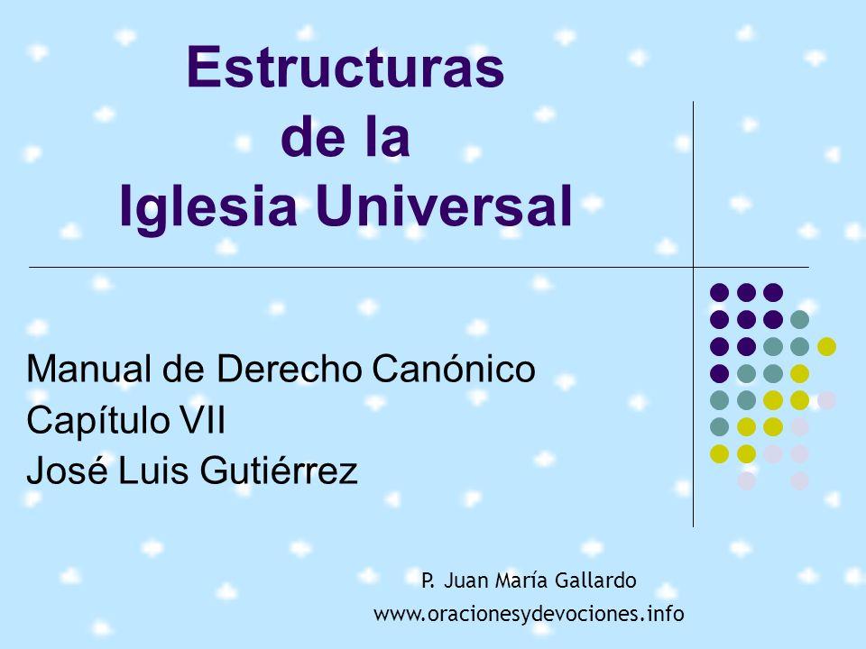 Estructuras de la Iglesia Universal