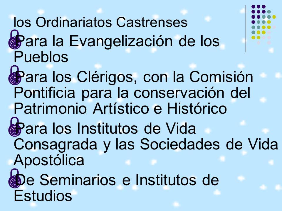 Para la Evangelización de los Pueblos
