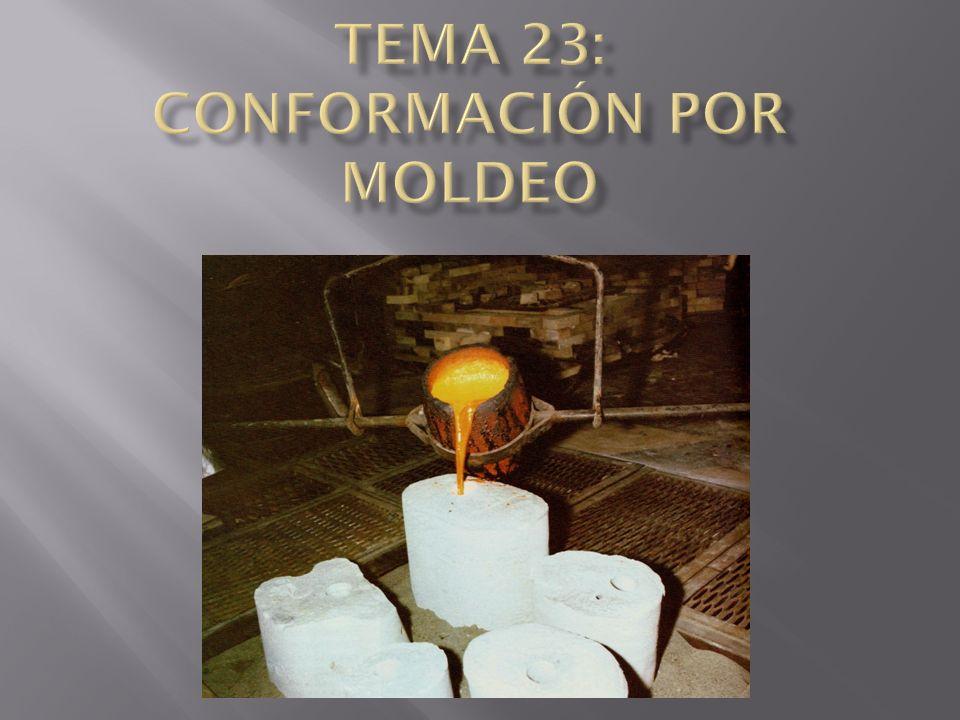TEMA 23: CONFORMACIÓN POR MOLDEO