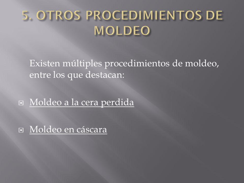 5. OTROS PROCEDIMIENTOS DE MOLDEO