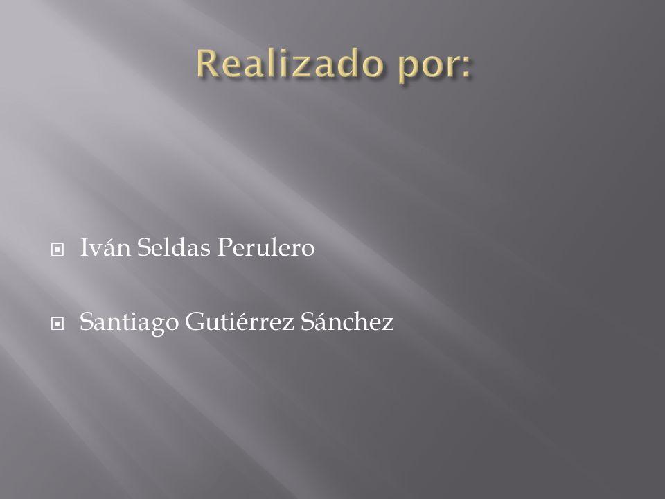 Realizado por: Iván Seldas Perulero Santiago Gutiérrez Sánchez