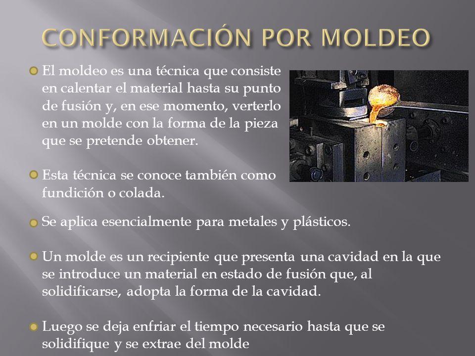 CONFORMACIÓN POR MOLDEO