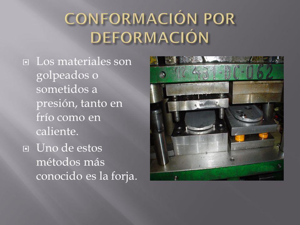 CONFORMACIÓN POR DEFORMACIÓN