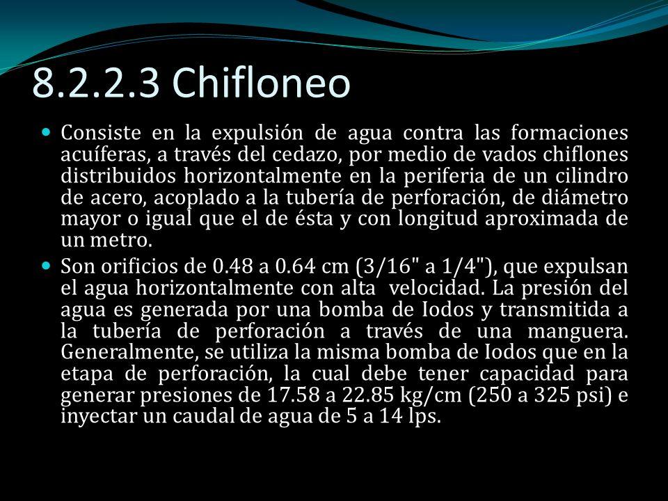 8.2.2.3 Chifloneo