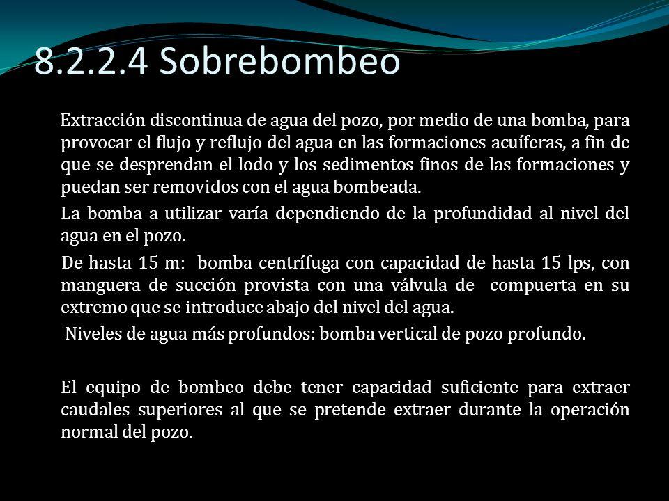 8.2.2.4 Sobrebombeo