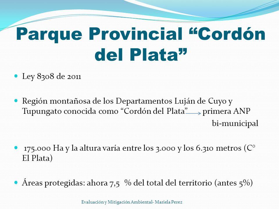 Parque Provincial Cordón del Plata