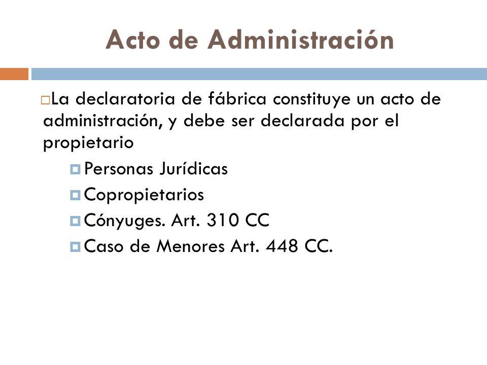 Acto de Administración