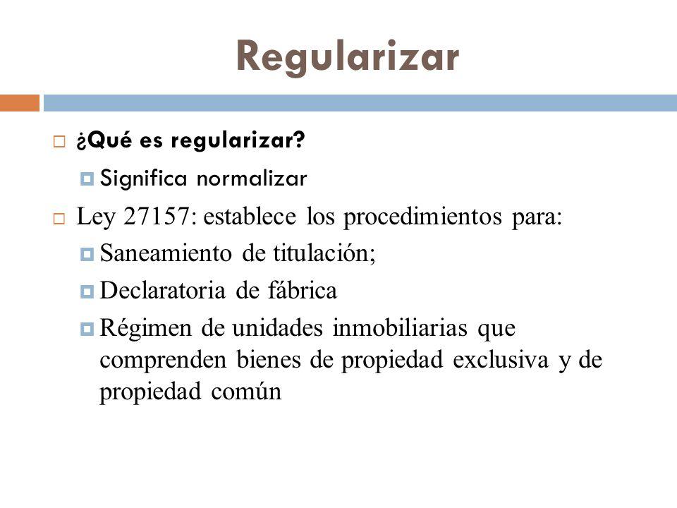 Regularizar ¿Qué es regularizar Significa normalizar