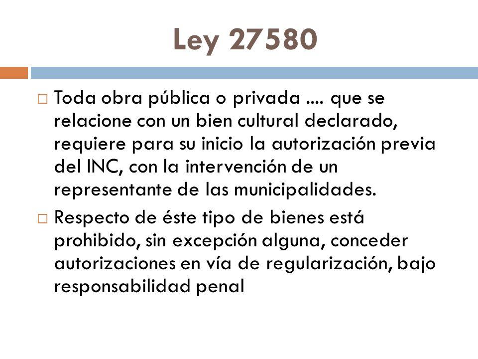 Ley 27580