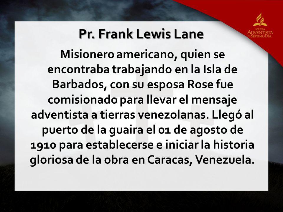 Pr. Frank Lewis Lane