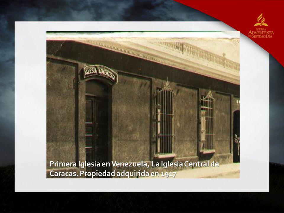 Primera Iglesia en Venezuela, La Iglesia Central de Caracas