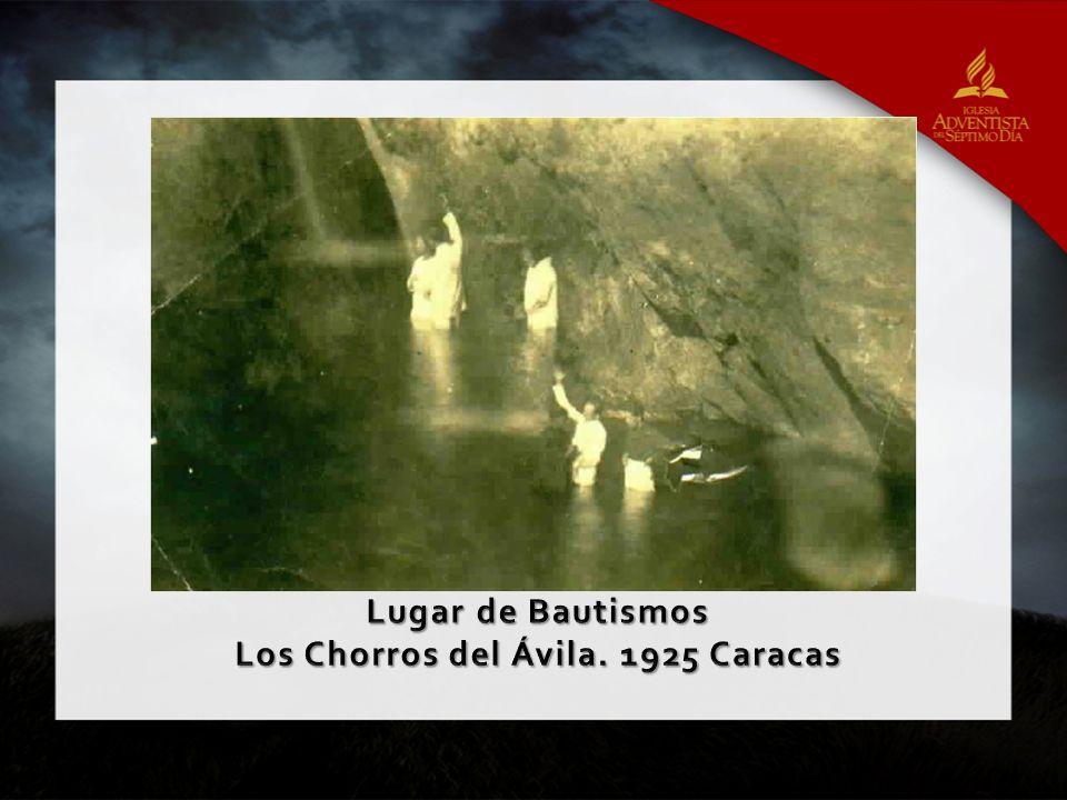 Los Chorros del Ávila. 1925 Caracas