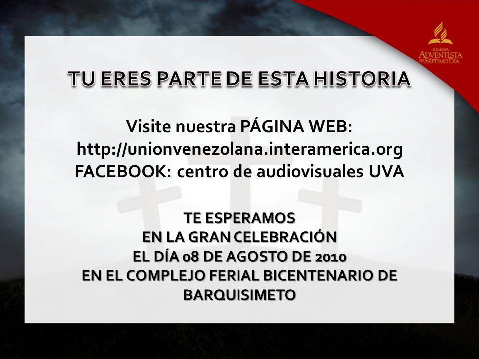 TU ERES PARTE DE ESTA HISTORIA