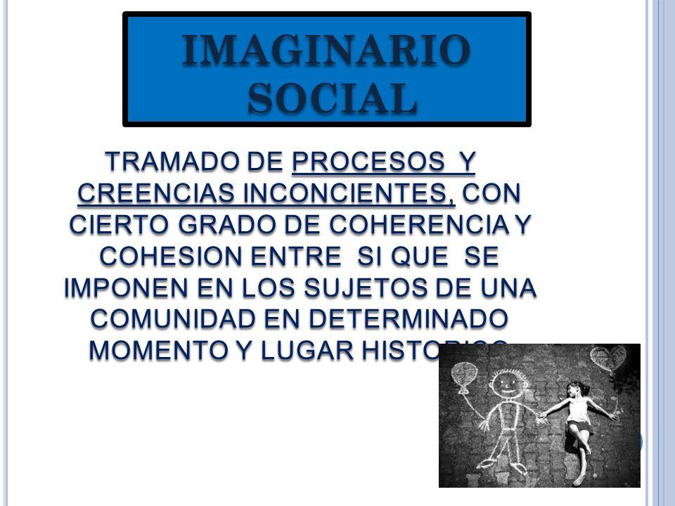 IMAGINARIO SOCIAL