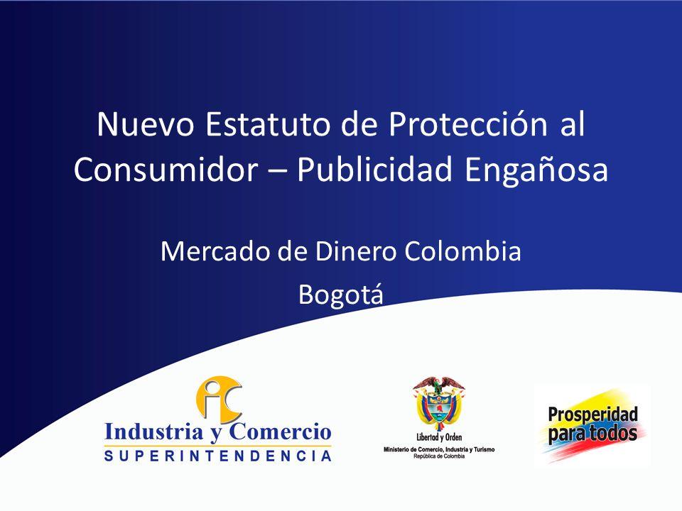 Nuevo Estatuto de Protección al Consumidor – Publicidad Engañosa