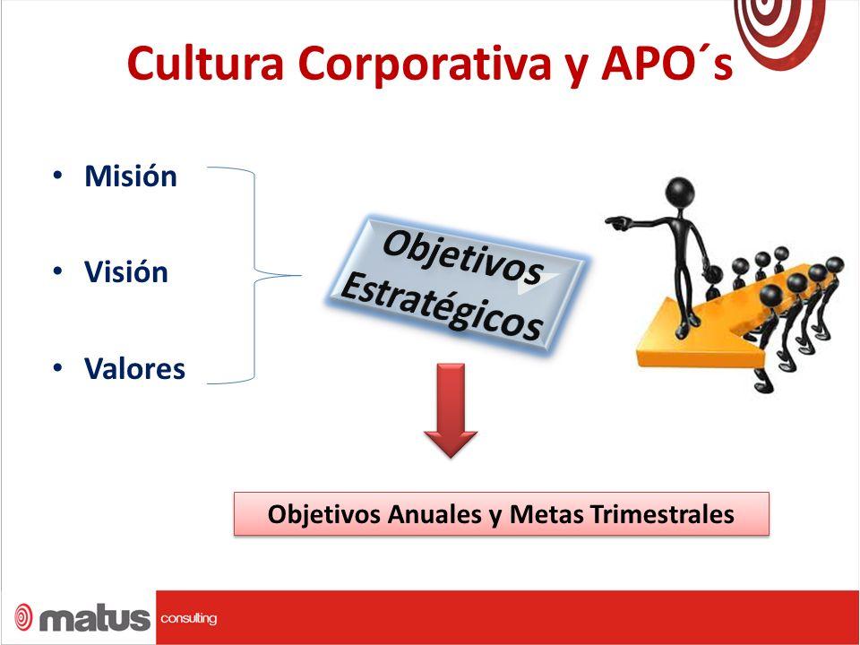 Cultura Corporativa y APO´s