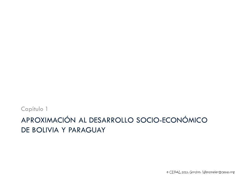 Aproximación al desarrollo socio-económico de Bolivia y Paraguay