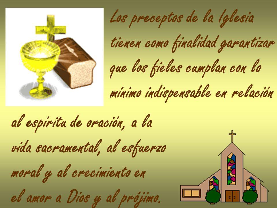 Los preceptos de la Iglesia