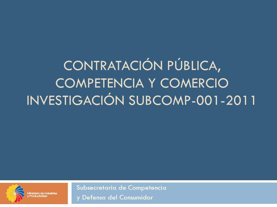 Subsecretaría de Competencia y Defensa del Consumidor