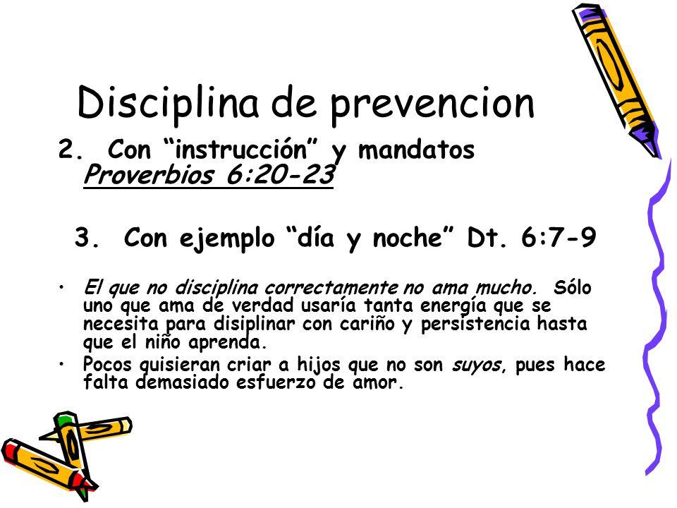 Disciplina de prevencion