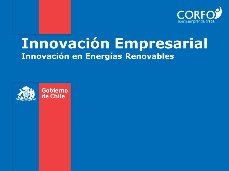 Innovación Empresarial Innovación en Energías Renovables