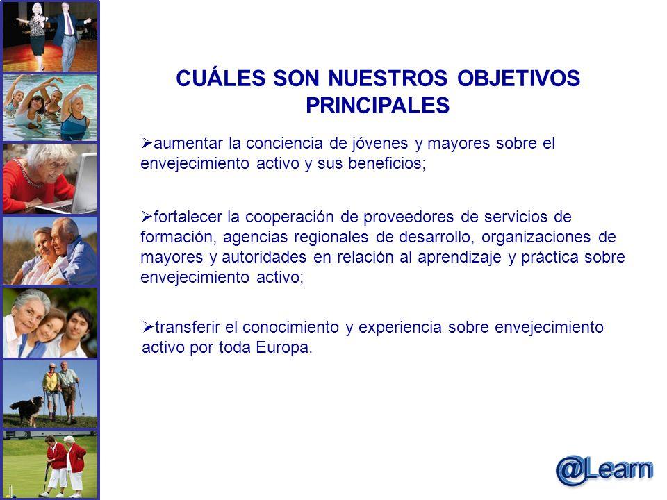 CUÁLES SON NUESTROS OBJETIVOS PRINCIPALES