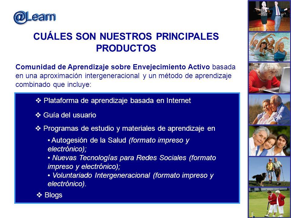 CUÁLES SON NUESTROS PRINCIPALES PRODUCTOS